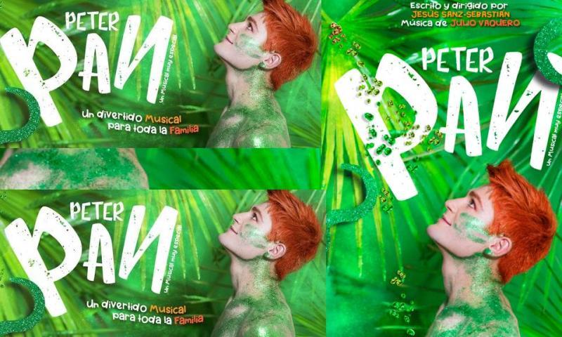 PETER PAN UN MUSICAL MUY ESPECIAL en el Teatro Nuevo Apolo