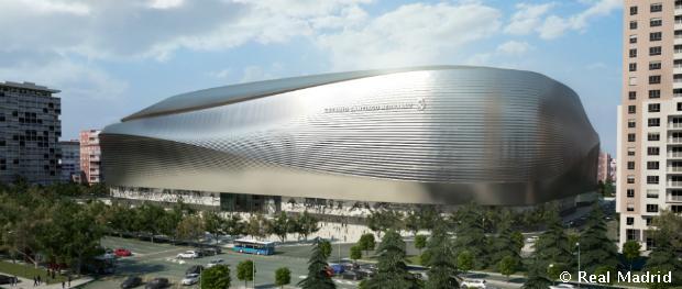 Az új stadion látványterve egy másik szemszögből