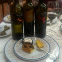 3 DuCropio Wines with 3 typical pastries from Ciro