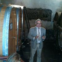 Antonello Rovellotti in the cellars (March 2012)