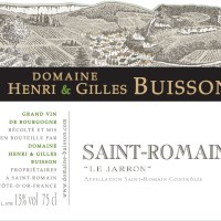 Buisson Saint Romain Jarron