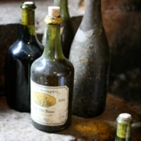 Montbourgeau – old bottles (2008)