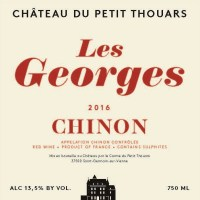 Petit Thouars Chinon les Georges