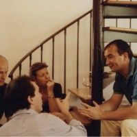 Pierre, Neal, Aline and Gerard Pangaud  around 1990