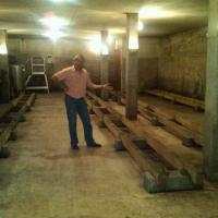 The Empty Cave at Domaine Forey! – evidence of the miserably small harvest of 2012 -26 Sept 2013