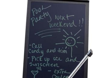 Brookstone Boogie Board LCD Writing Tablet