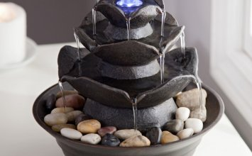 Bond Quinn Indoor/Outdoor Tabletop Fountain