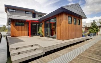Moored & Modern: A Modern Floating Home | Q&A w/ Philip Sydnor
