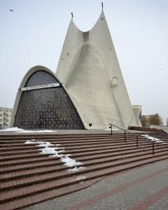 Sanctuary of the Divine Mercy in Kalisz, Poland.