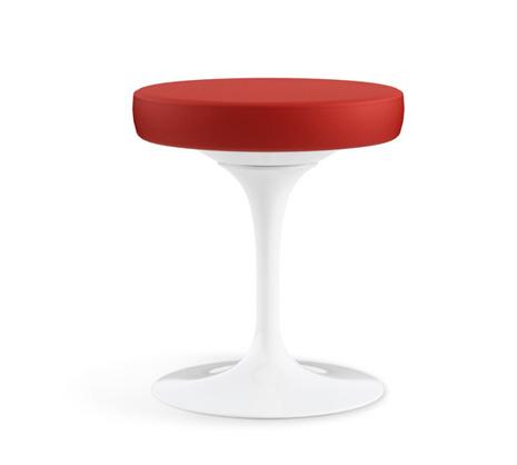 Tulip Stool by Eero Saarinen.