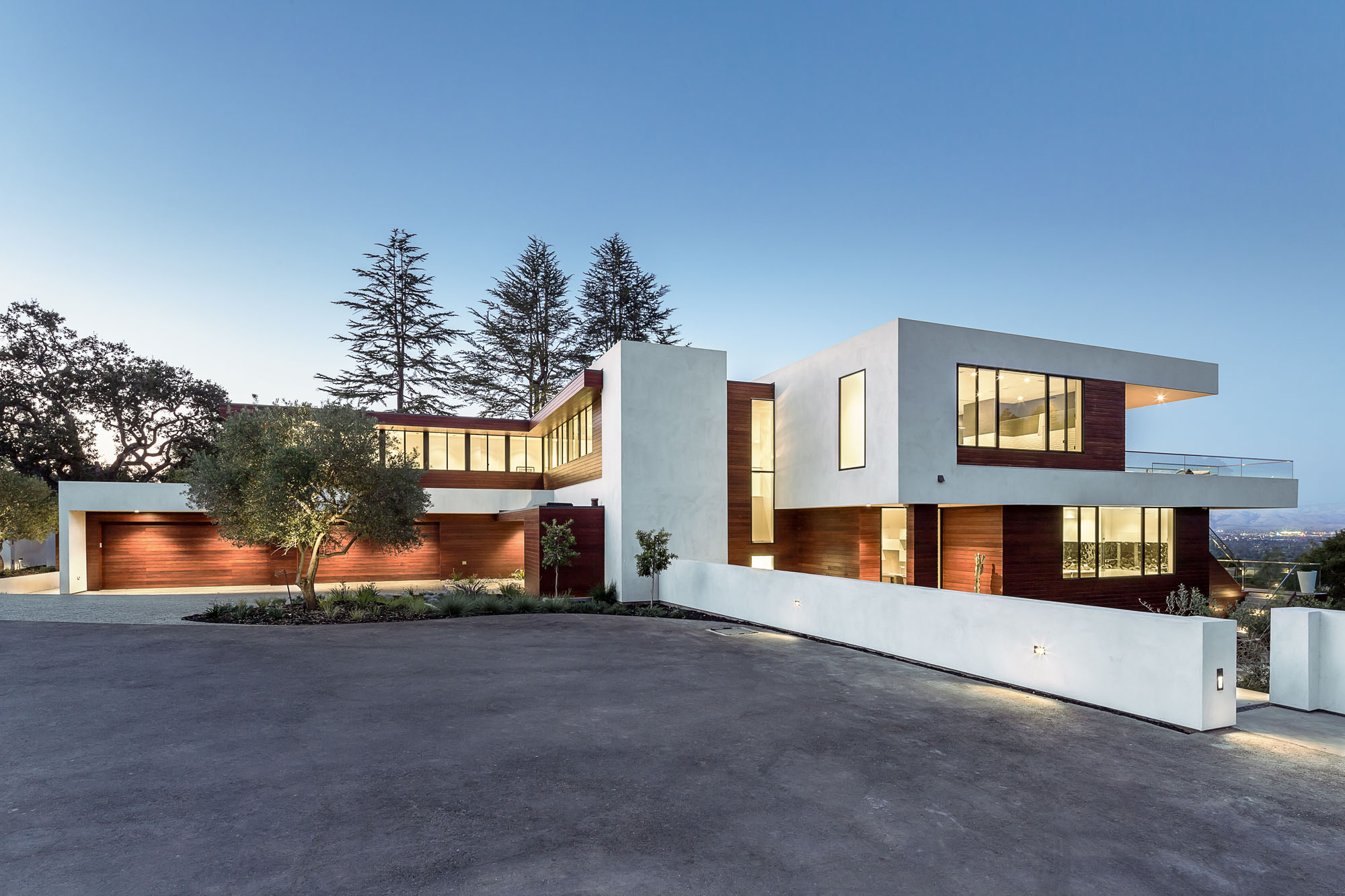 Modern Home Exterior Design Ideas 2017: 2017 Silicon Valley MA+DS Modern Home Tour
