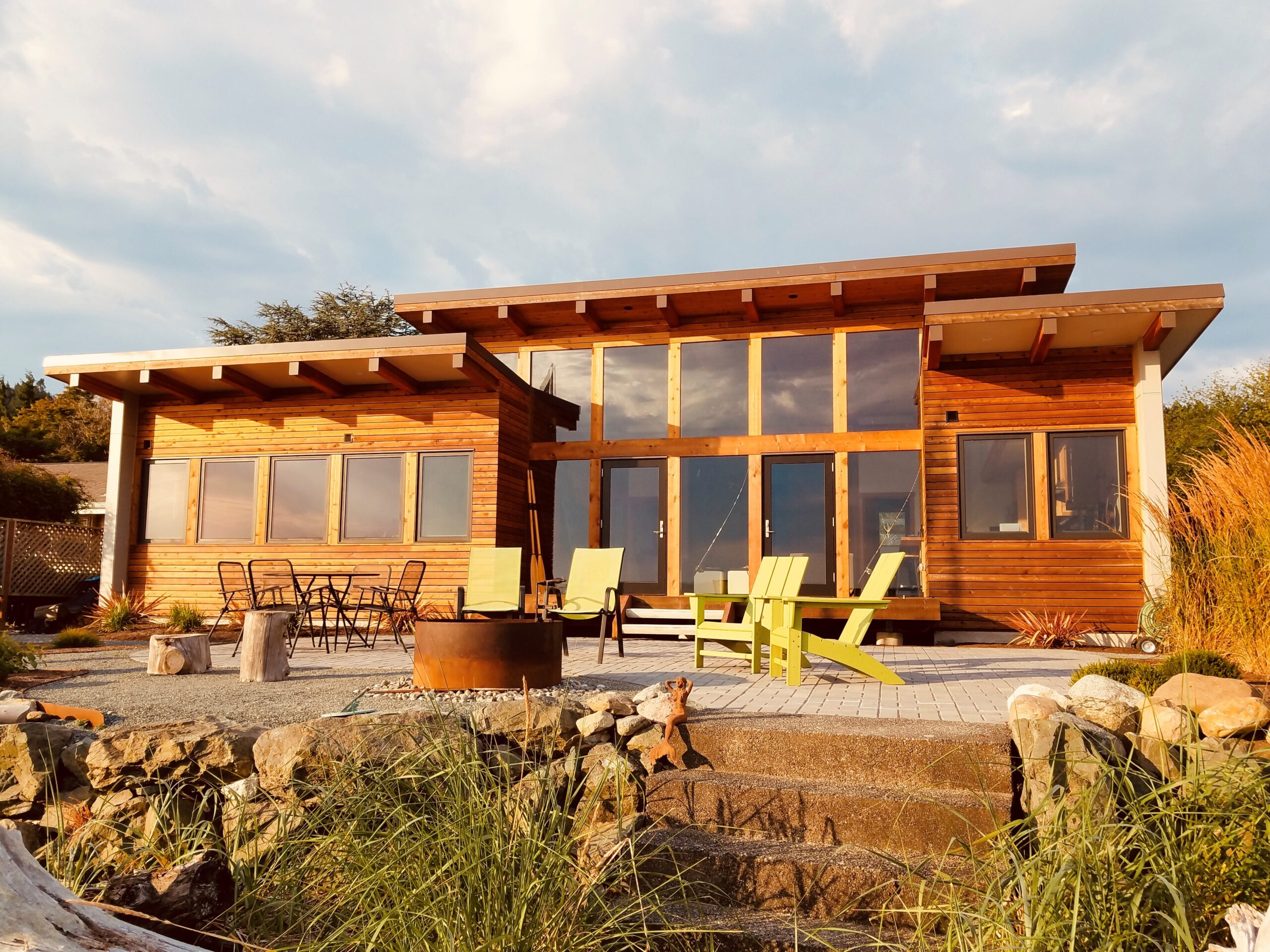 Josh Architects Whidbey Island Beach Cabin Home