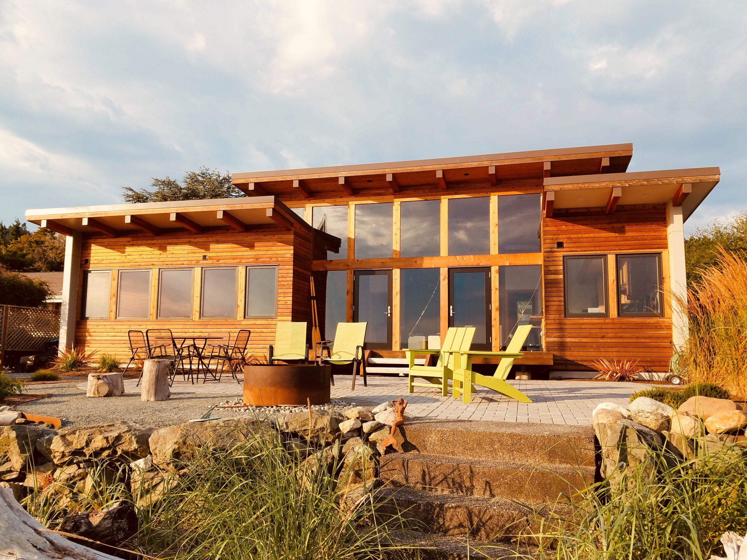 Josh Architects Whidbey Island Beach Cabin Home