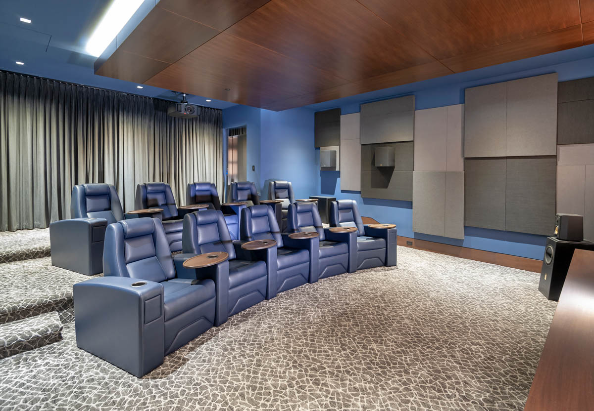 Madeleine Design Group Ocean Home Theater seating