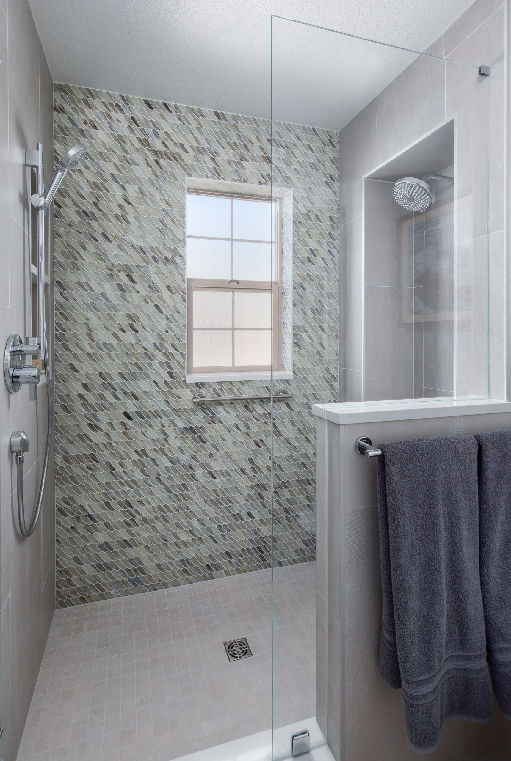 KE Interior Solutions two-person shower