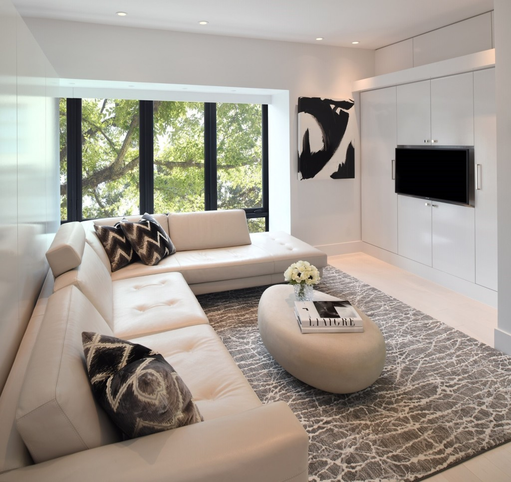 Gary R. Chandler Architecture & Interiors guest suite lounge