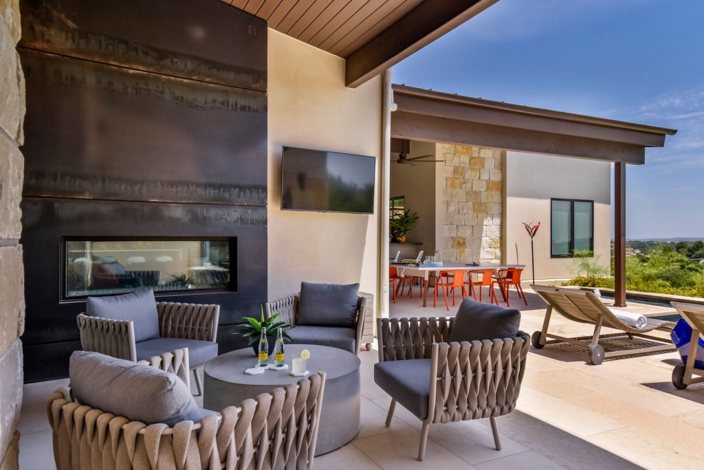 Britt Design Group outdoor lounge