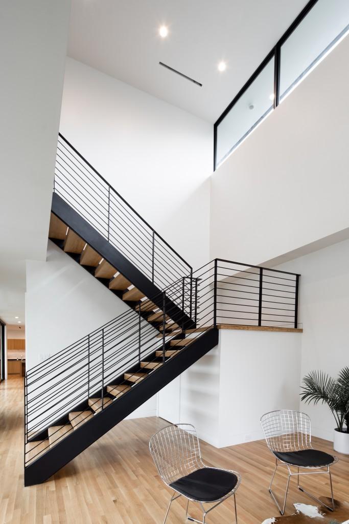 studioMET open concept stairs
