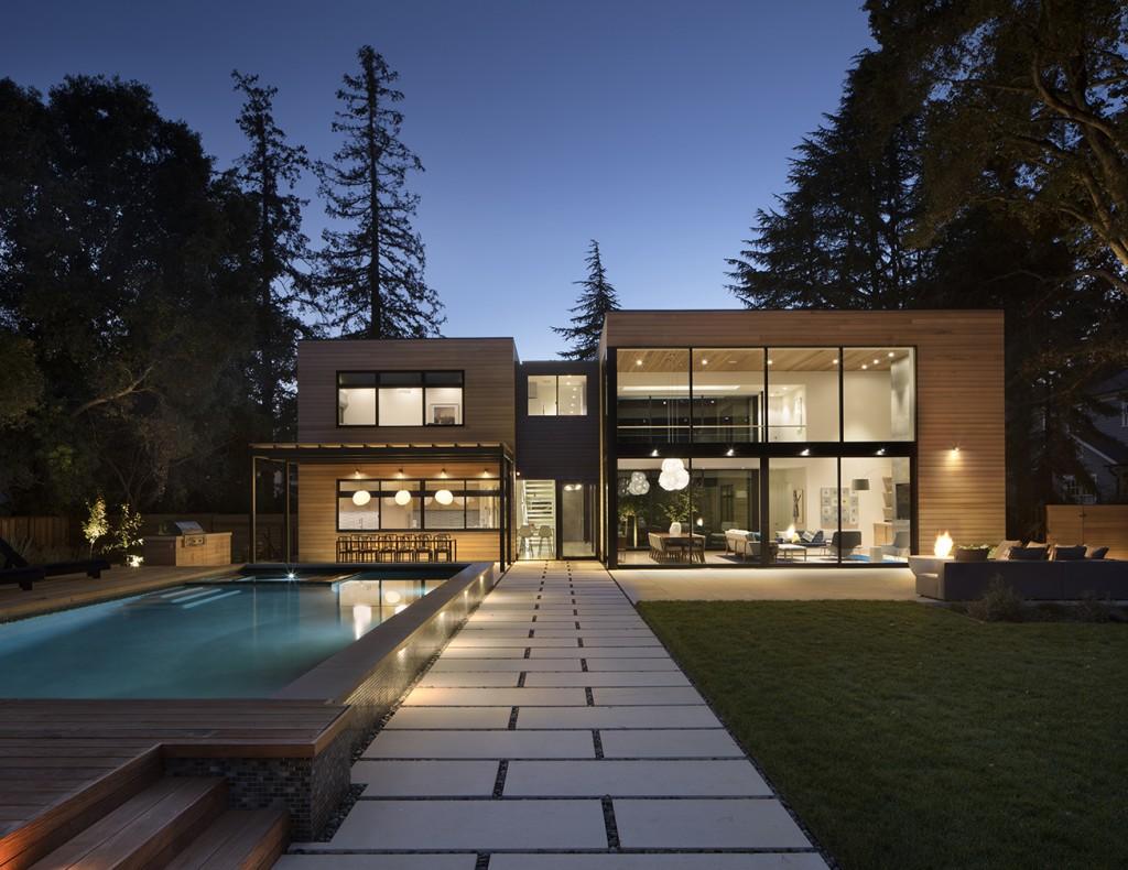John Lum Architecture backyard space