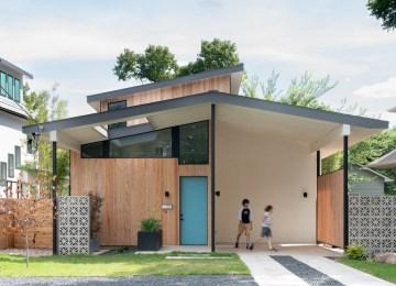 Matt Fajkus Architecture's Split House in Austin TX