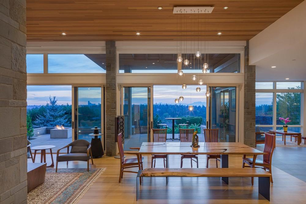 Baylis Architects dining room
