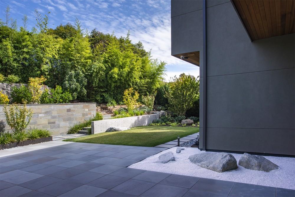 Baylis Architects Zen rock garden