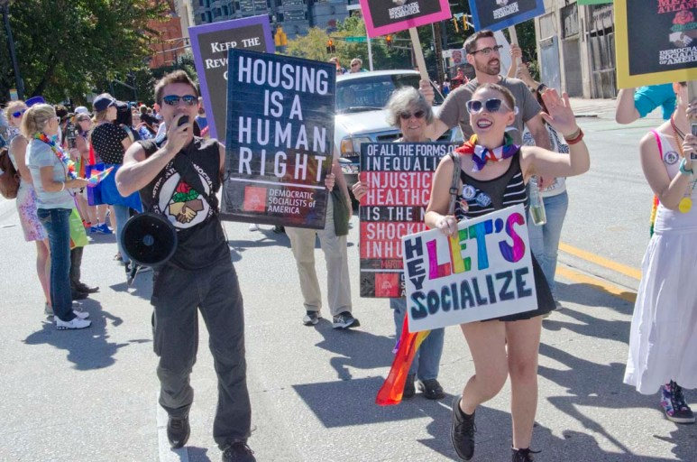 MADSA Marches in Pride Parade