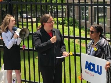 Gail Podolsky, President Of the American Civil Liberties Union (ACLU) of Georgia.