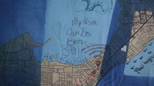 Mapa Madison