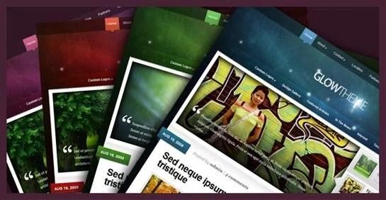 Glow WordPress Theme – Premium WordPress Theme for 02/24