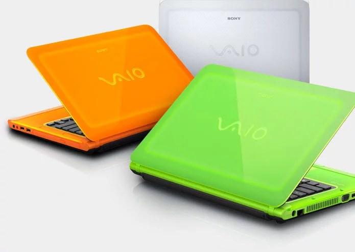 Sony Unveils Light-emitting Vaio C Series Laptops