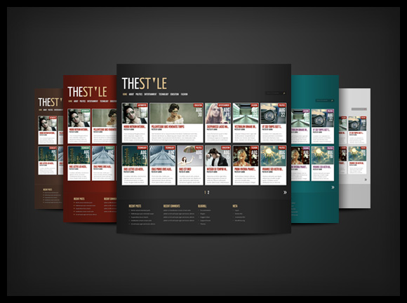 TheStyle Magazine WordPress Theme