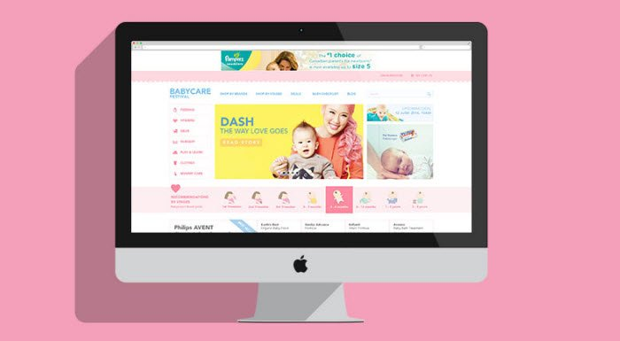 E-commerce Website UI UX