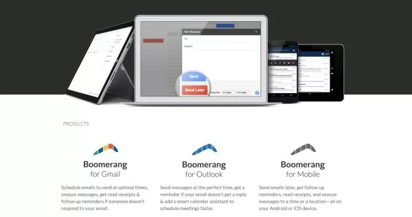 Boomerang: Follow up