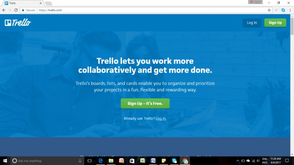 Trello: Project Management