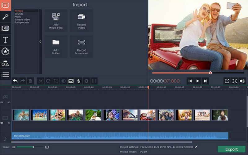 video editing software for Windows