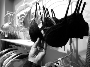 Bra shopping