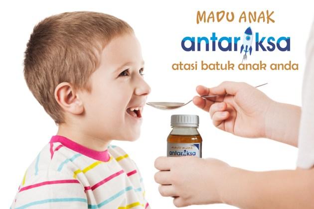 madu antariksa obat batuk anak alami