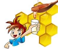 aturan minum madu untuk anak