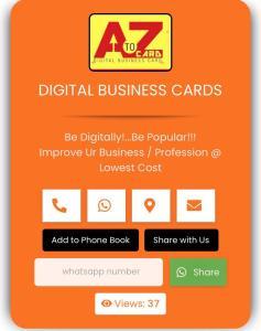 A to Z : Digital Business Cards