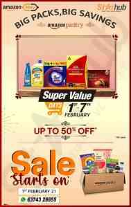 Starhub : Super value Feb sale