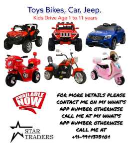 Star traders toys and bikes