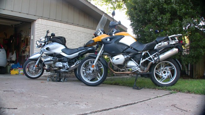 R1150R meets its replacement: R1200GS