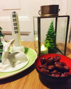 Brændte mandler julesnack
