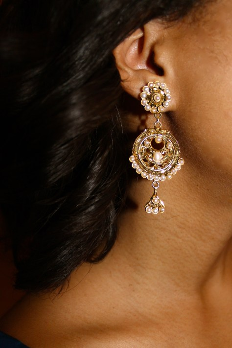 A gorgeous earring.