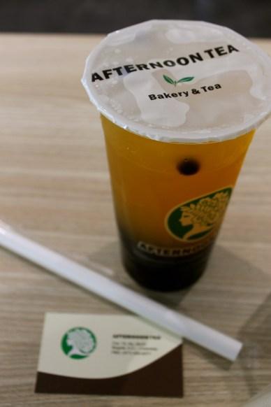Bubble tea at Afternoon Tea.