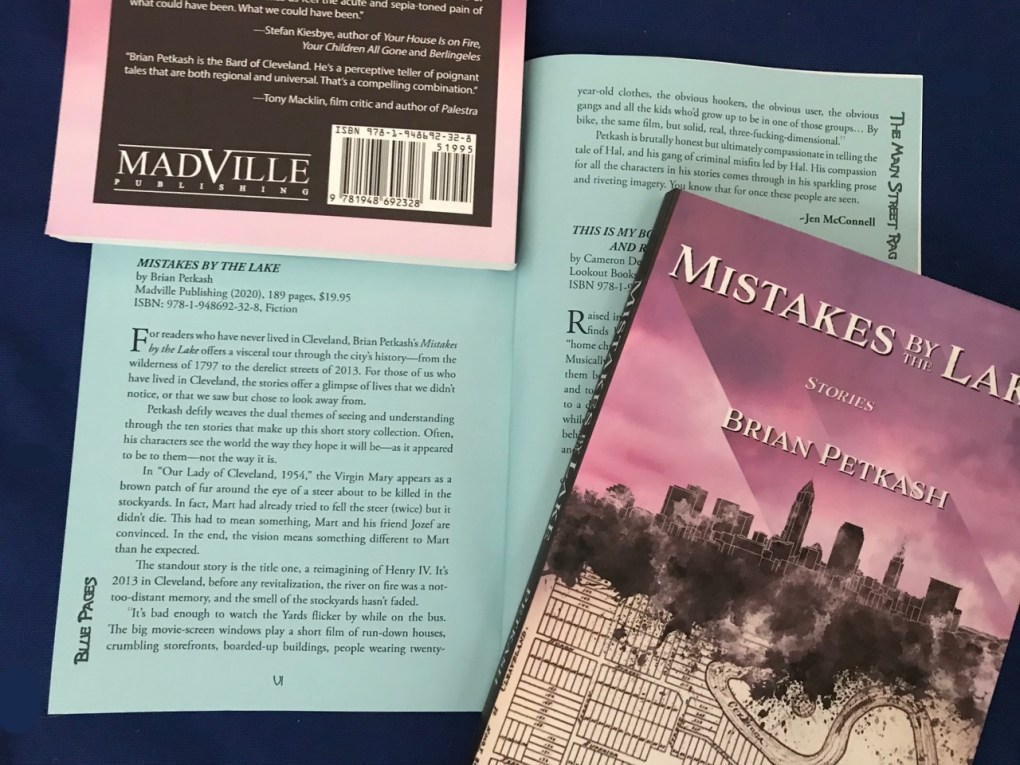 Main Street Rag Review of Brian Petkash's MISTAKES BY THE LAKE