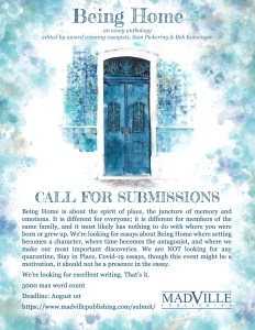 Being Home Call for Submissions flyer
