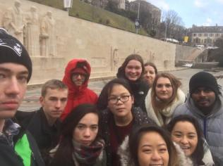 ...and the Reformation Wall (mean muggin')!