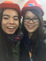 Amina and I are ready 2 go underground!